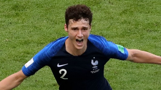 Benjamin Pavard France 2018