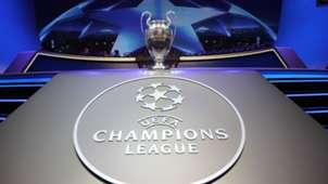 Champions League Pokal Trophy Auslosung Draw