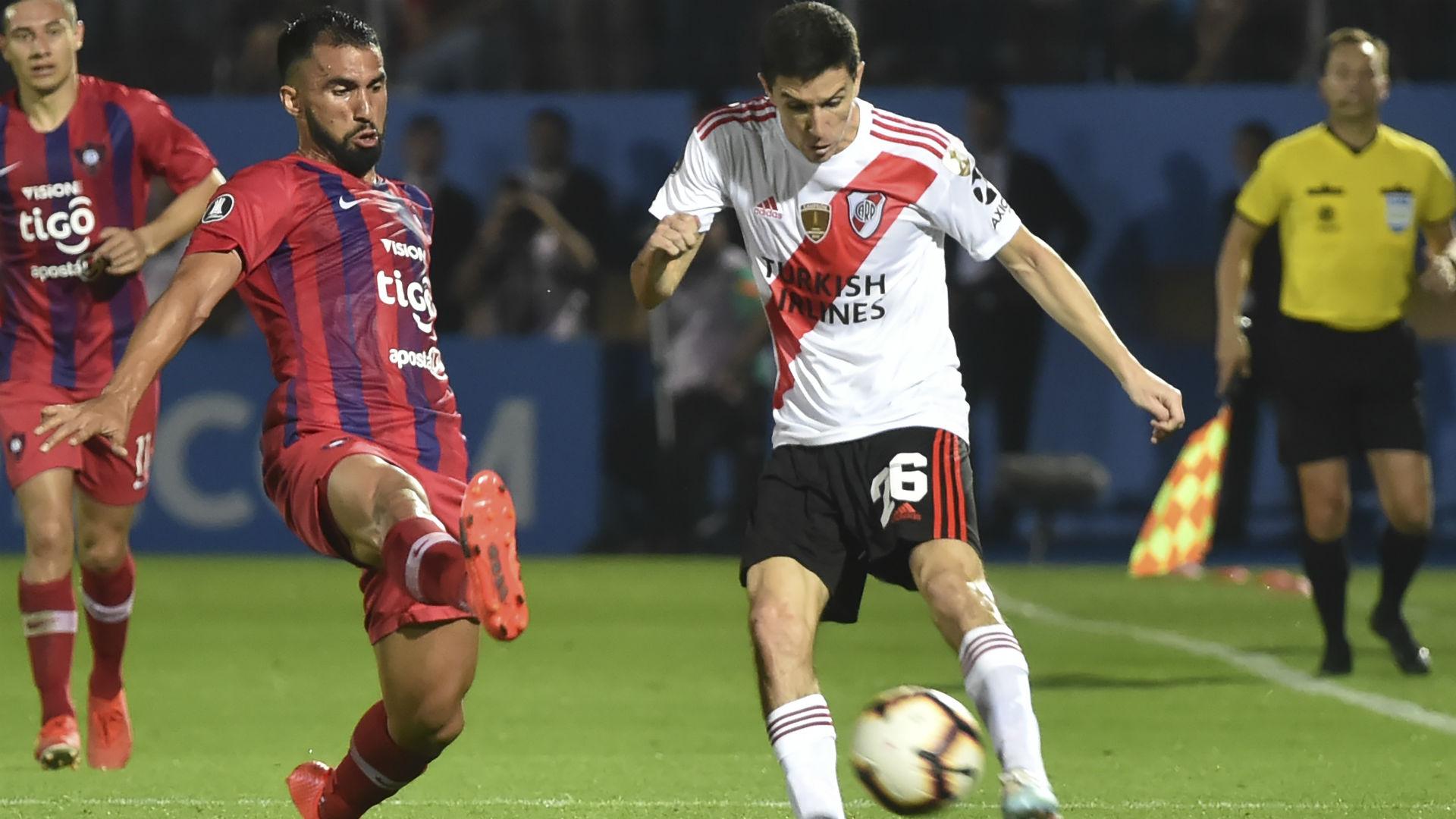 Nacho Fernandez Cerro Porteño River Copa Libertadores 29082019