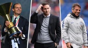 Allegri Lampard Zola Chelsea replacement