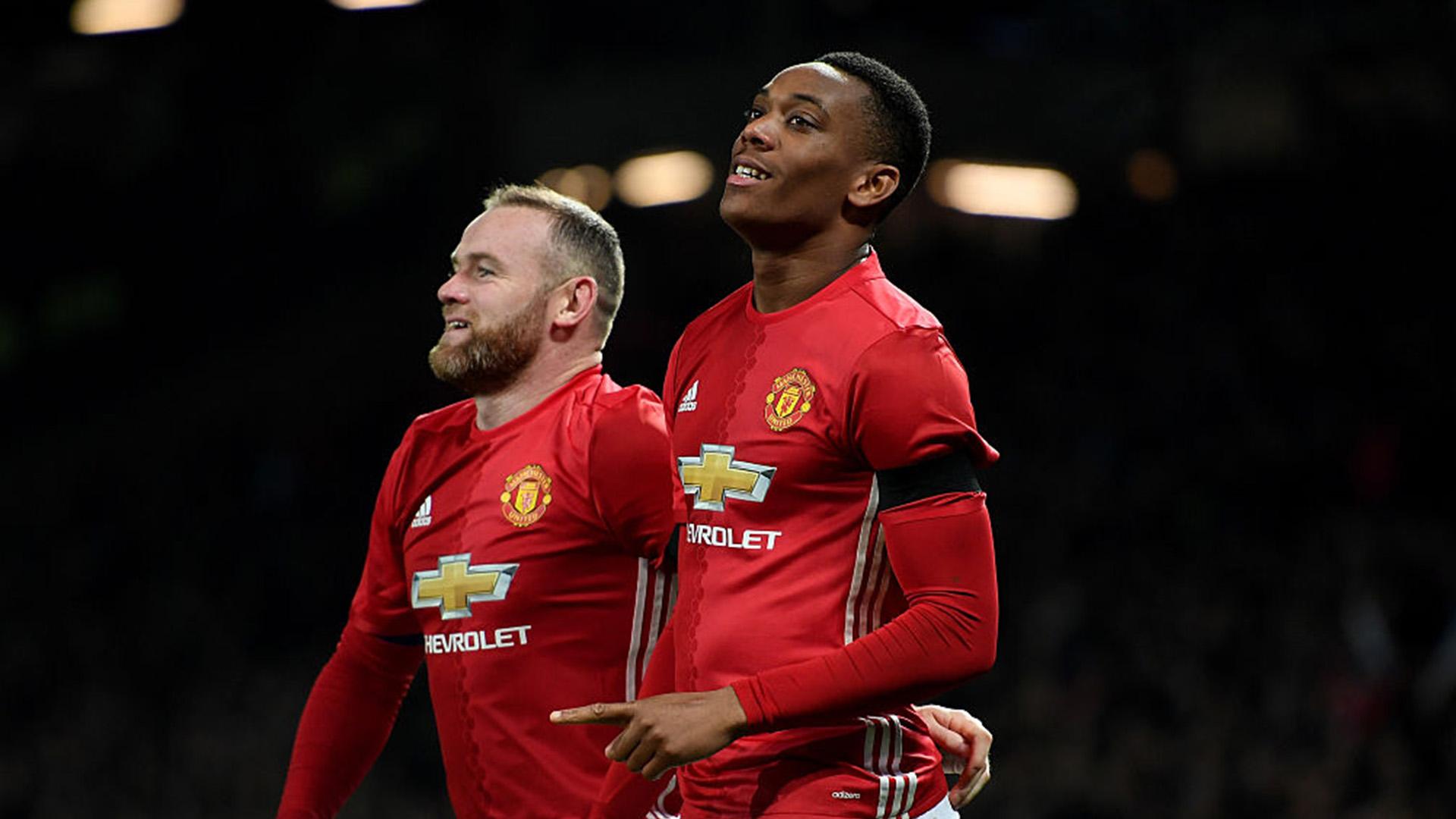 Wayne Rooney - Anthony Martial