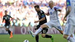 Emil Hallfredsson Lionel Messi Iceland Argentina 2018 World Cup