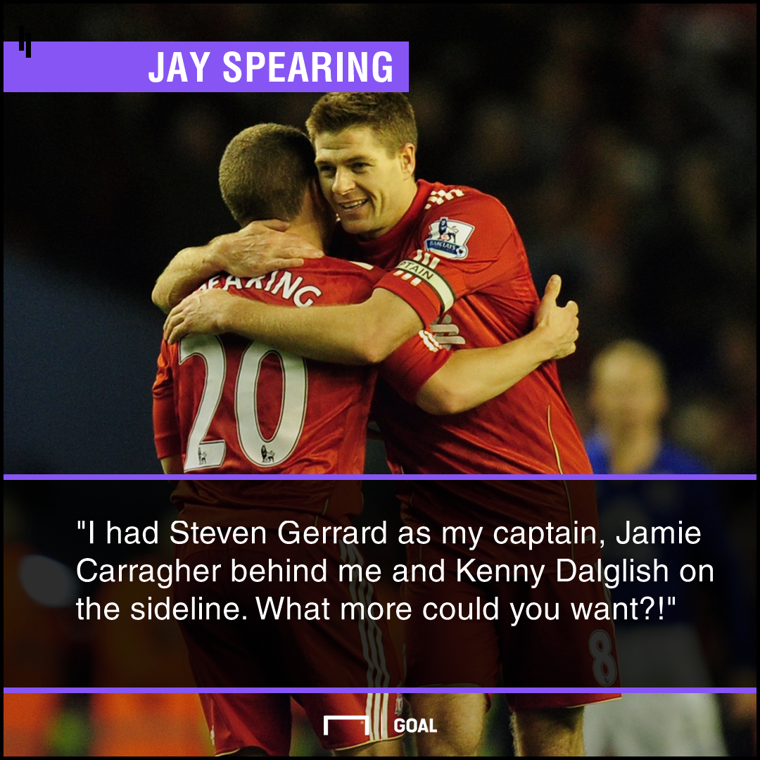 Jay Spearing Gerrard PS