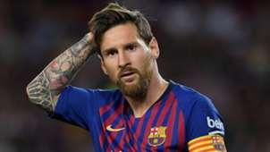 Lionel Messi Barcelona 2018