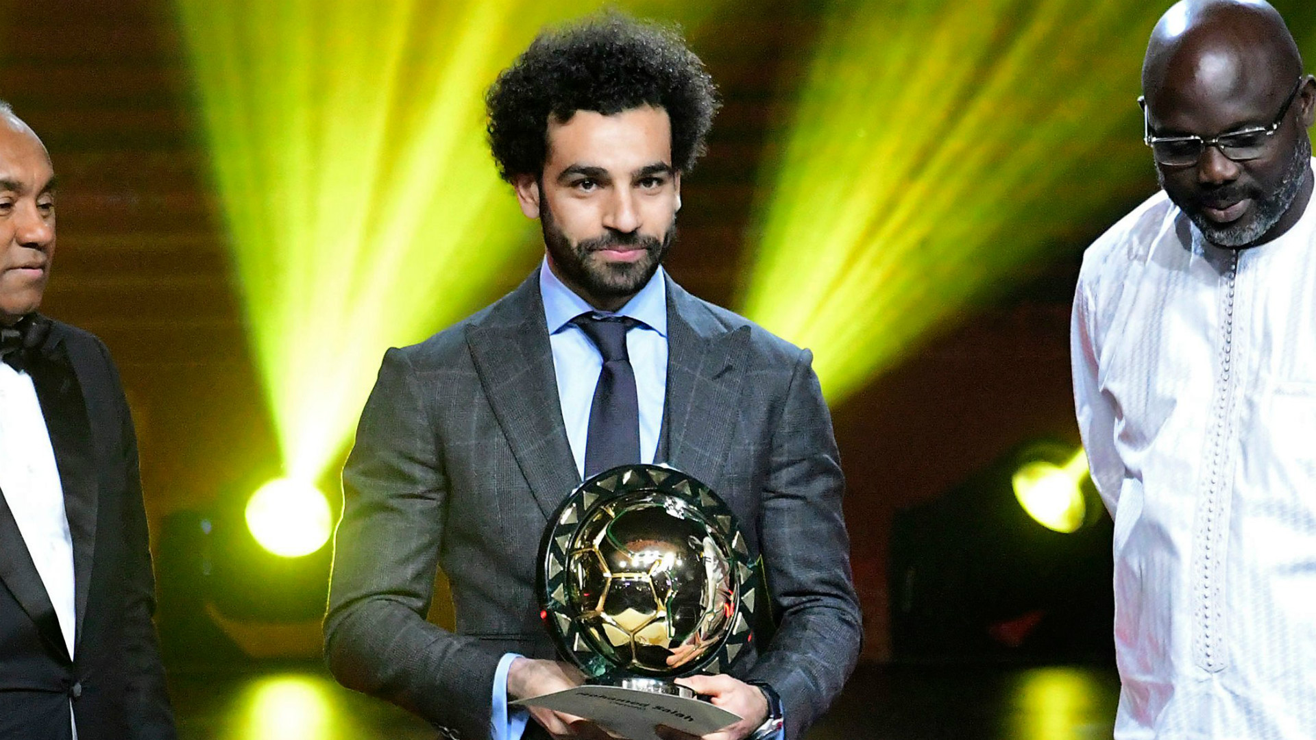 Image result for Salah retains CAF African Player of the Year gong