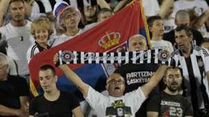 Partizan Fans Besiktas 082318