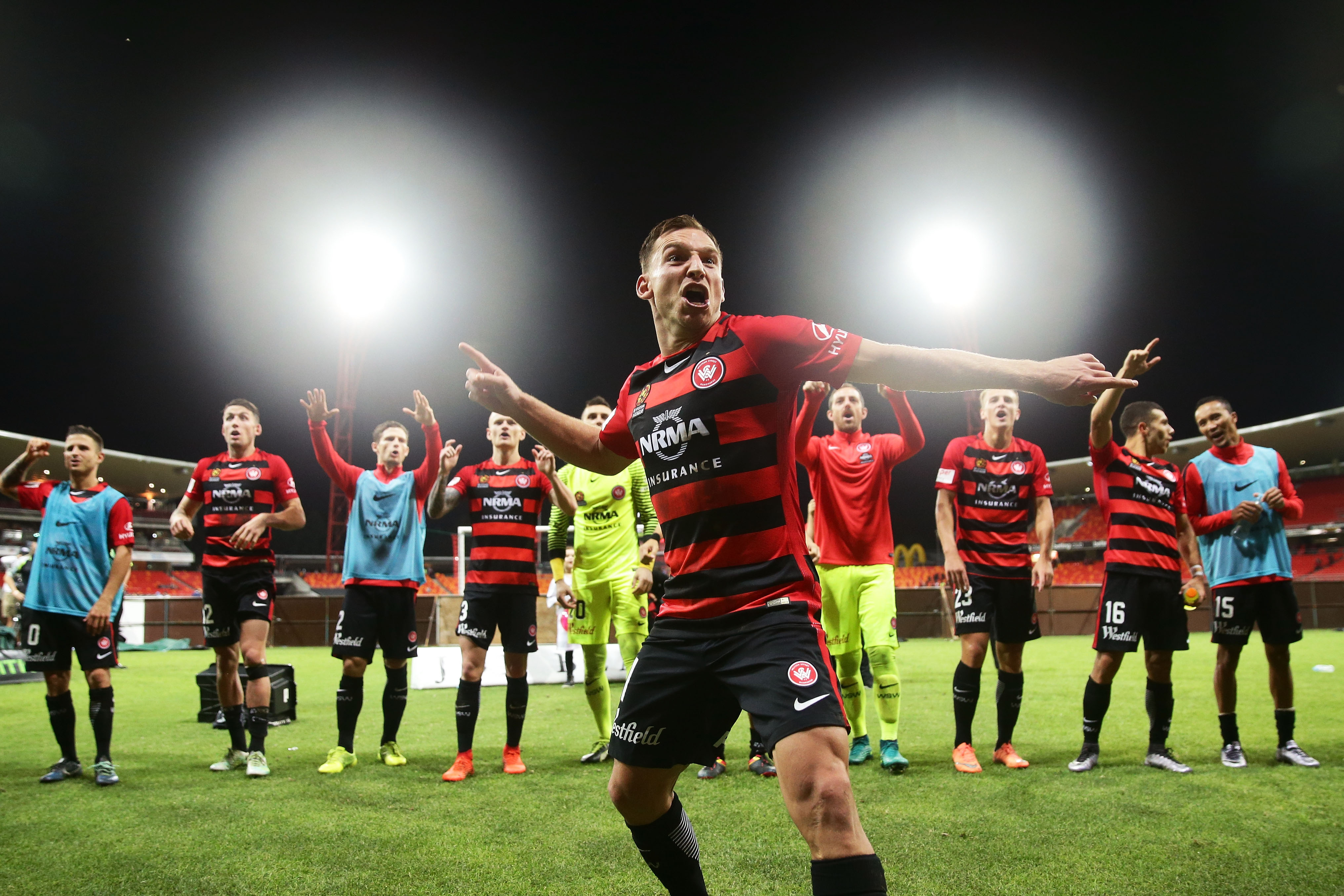 Brendon Santalab Western Sydney Wanderers v Melbourne City A-League 24032017