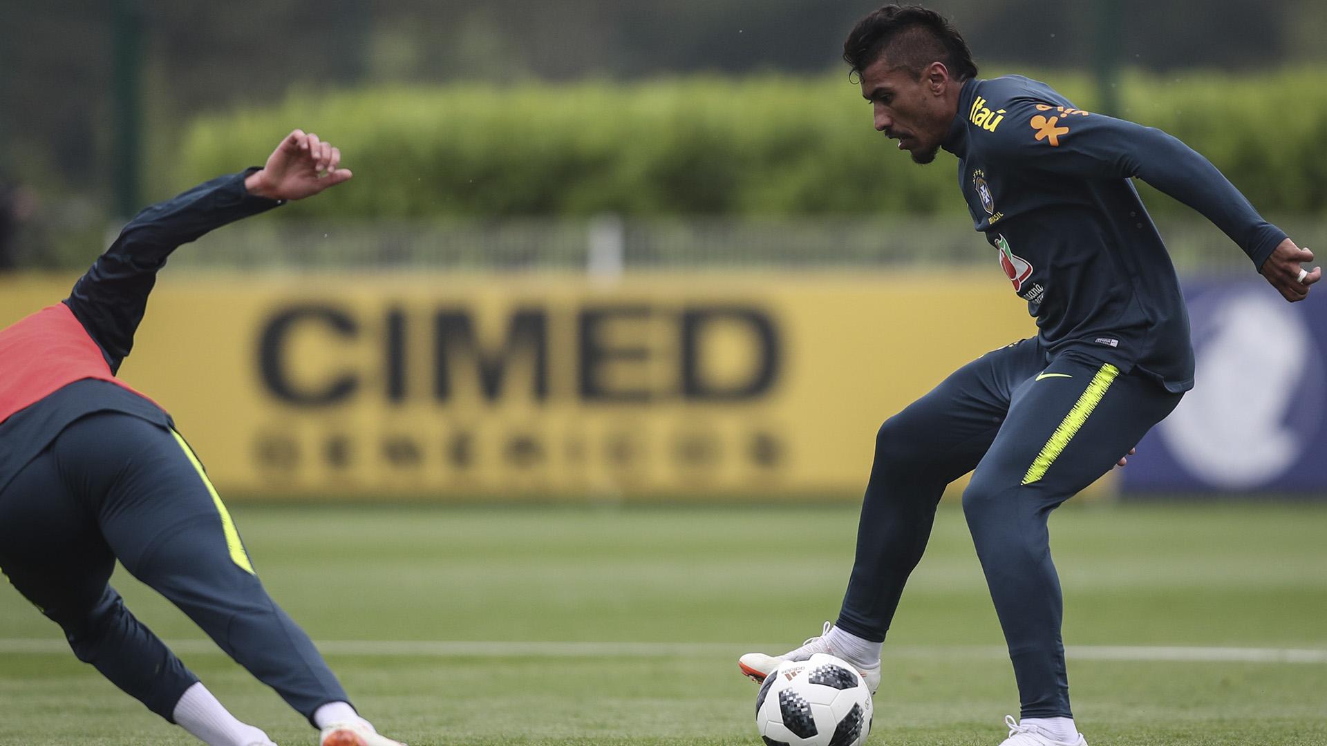 Paulinho Brasil treino 29/05/2018