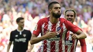Carrasco Griezmann Atletico Madrid Sevilla LaLiga