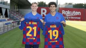 Frenkie de Jong Carles Alena FC Barcelona
