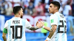 Messi Pavon Argentina France Round of 16 2018 World Cup