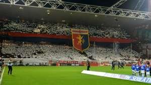 Genoa coreografia Genoa Sampdoria Serie A