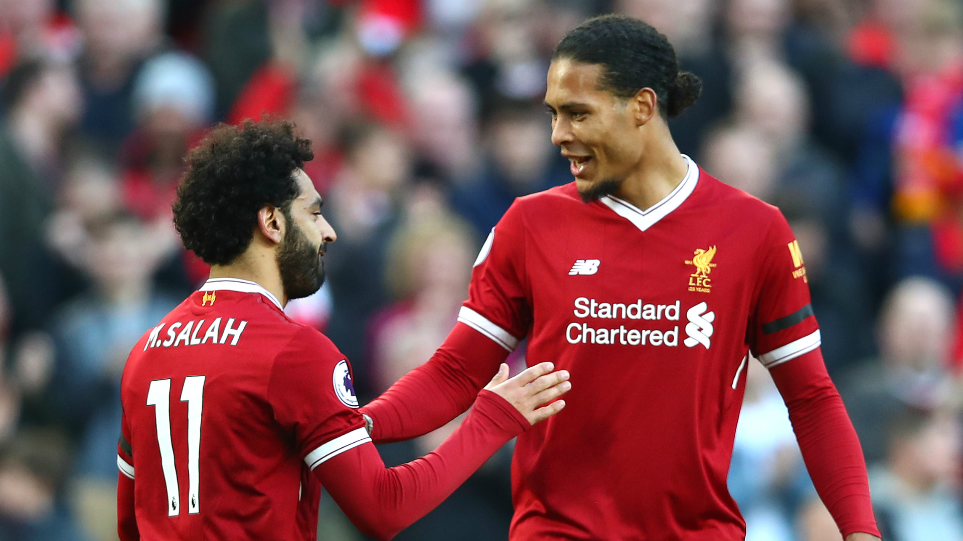 Mohamed Salah, Virgil Van Dijk - Liverpool