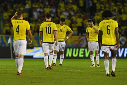 Colombia vs Paraguay 2017