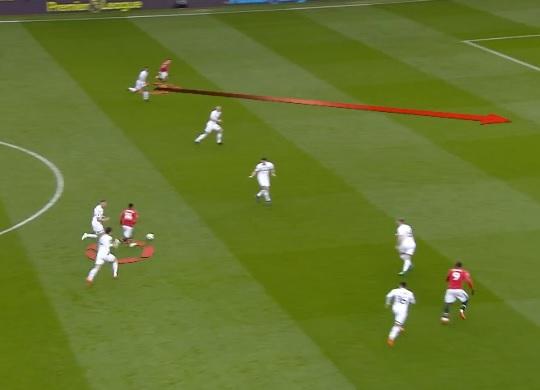 Manchester United Second Goal vs Swansea