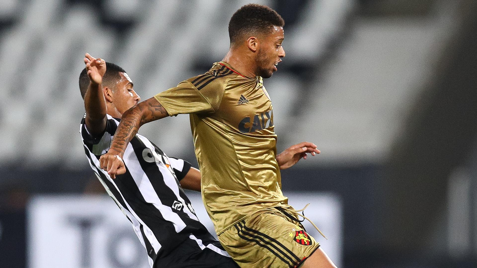 Andre Ribeiro Matheus Fernandes Botafogo Sport Recife Brasileirao 17072017