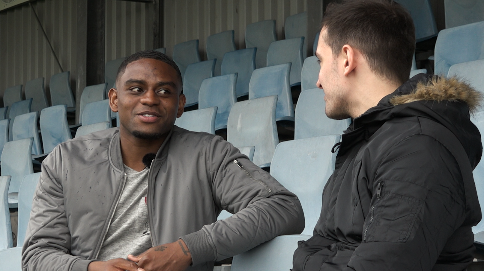 Kyle Ebecilio talks to Chris Wheatley