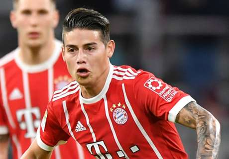 Real Madrid return for James ruled out