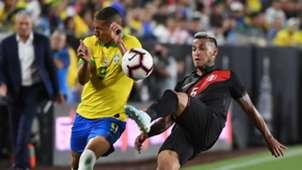 Richarlison Miguel Trauco Brazil Peru 2019