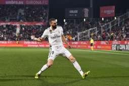 Benzema Girona Real Madrid Copa del Rey