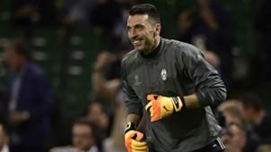 Gianluigi Buffon Juventus Champions League Final training