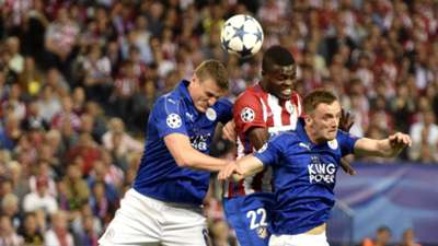 Thomas Partey, Robert Huth - Atletico Madrid, Leicester 12042017