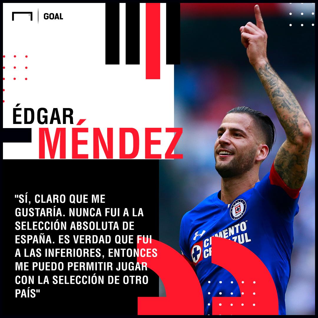 Édgar Méndez Sueña Con Jugar En La Selección Mexicana