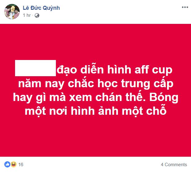 Phản ứng đạo diễn hình trận Lào - Việt Nam 5