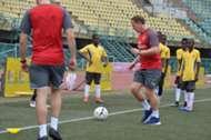 Arsenal coaching clinic