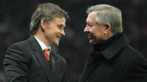 Ole Gunnar Solskjaer Sir Alex Ferguson Man Utd
