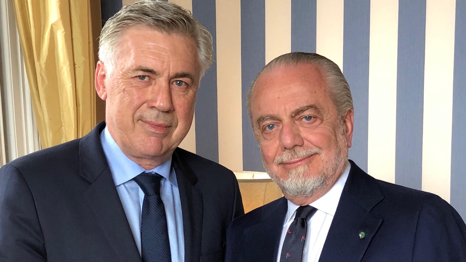 Ancelotti De Laurentiis Napoli