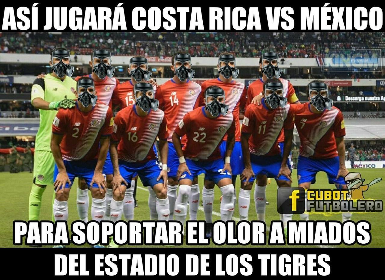 Memes México Costa Rica