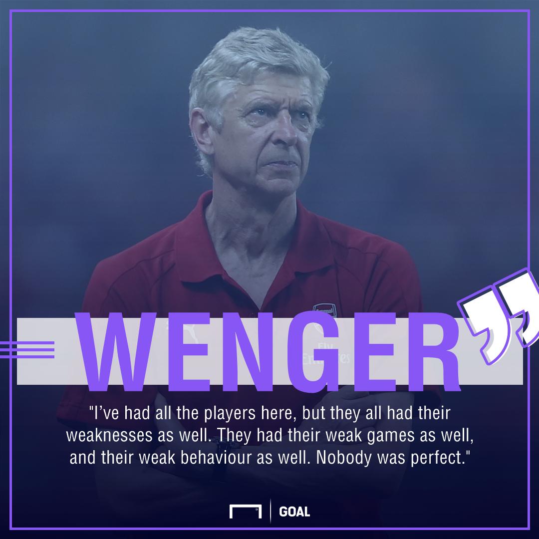 Arsene Wenger Arsenal legend critics