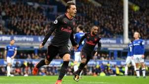 Mesut Özil FC Arsenal Premier League Everton 102217