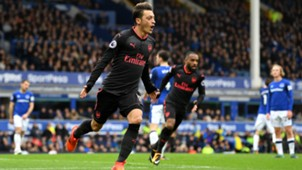 Mesut Özil FC Arsenal Premier League Everton 102217