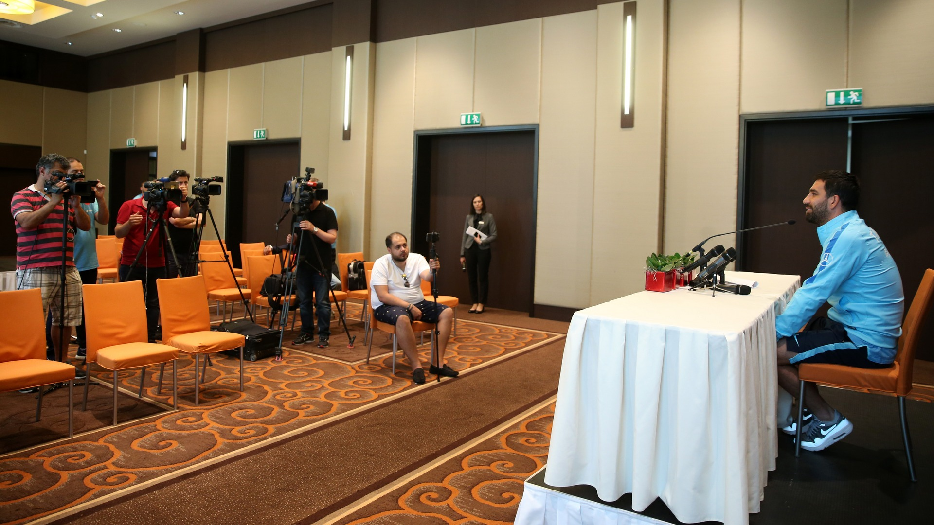 Arda Turan press conference