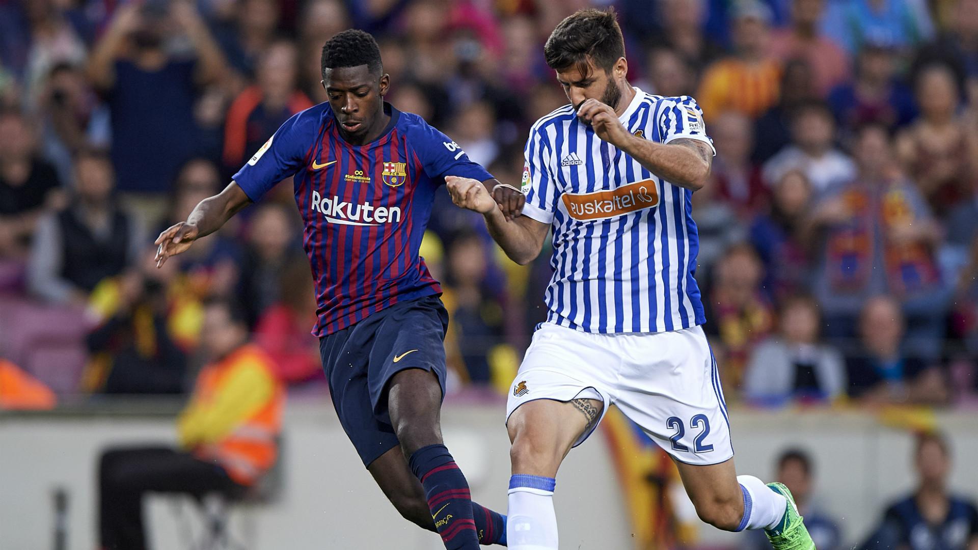Dembele Raul Navas Barcelona Real Sociedad LaLiga