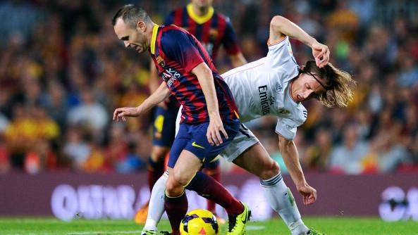 Iniesta Modric La Liga 23042017