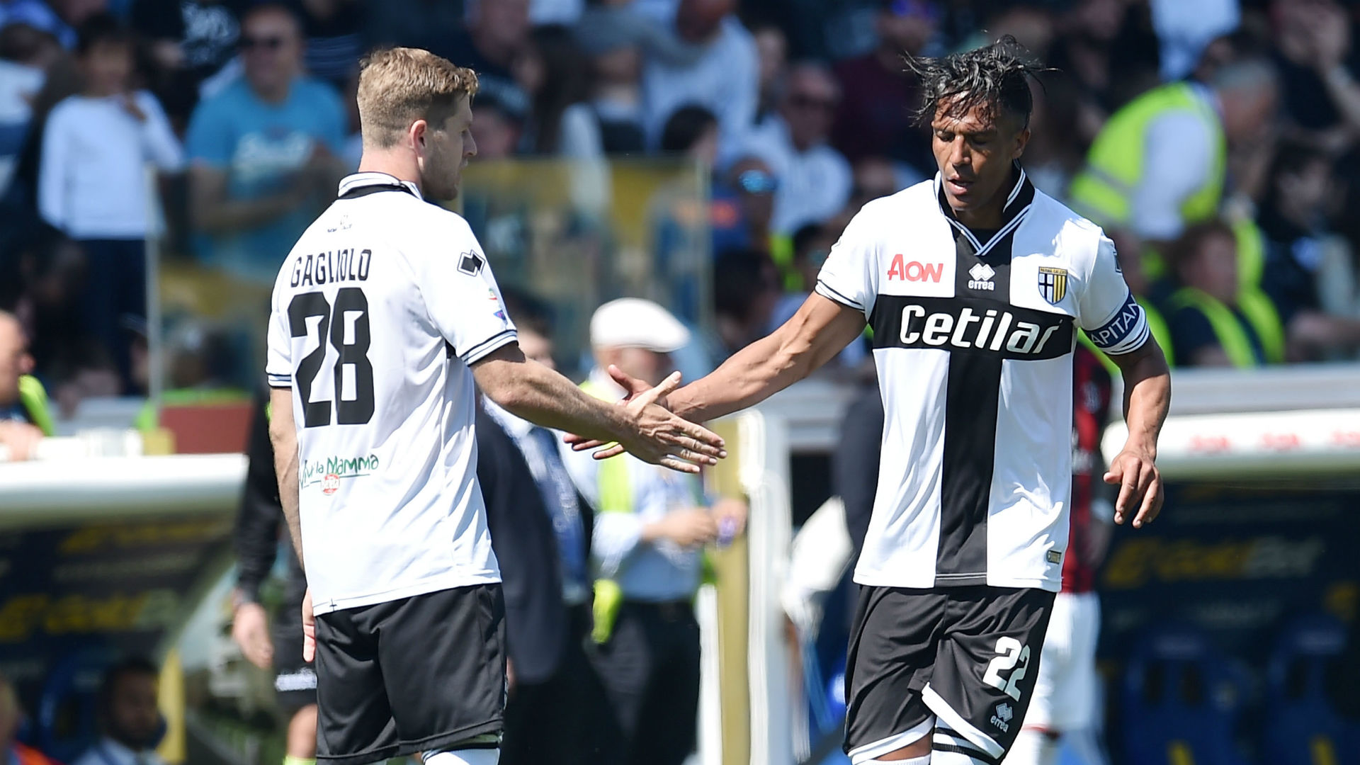Bruno Alves Parma Milan Serie A
