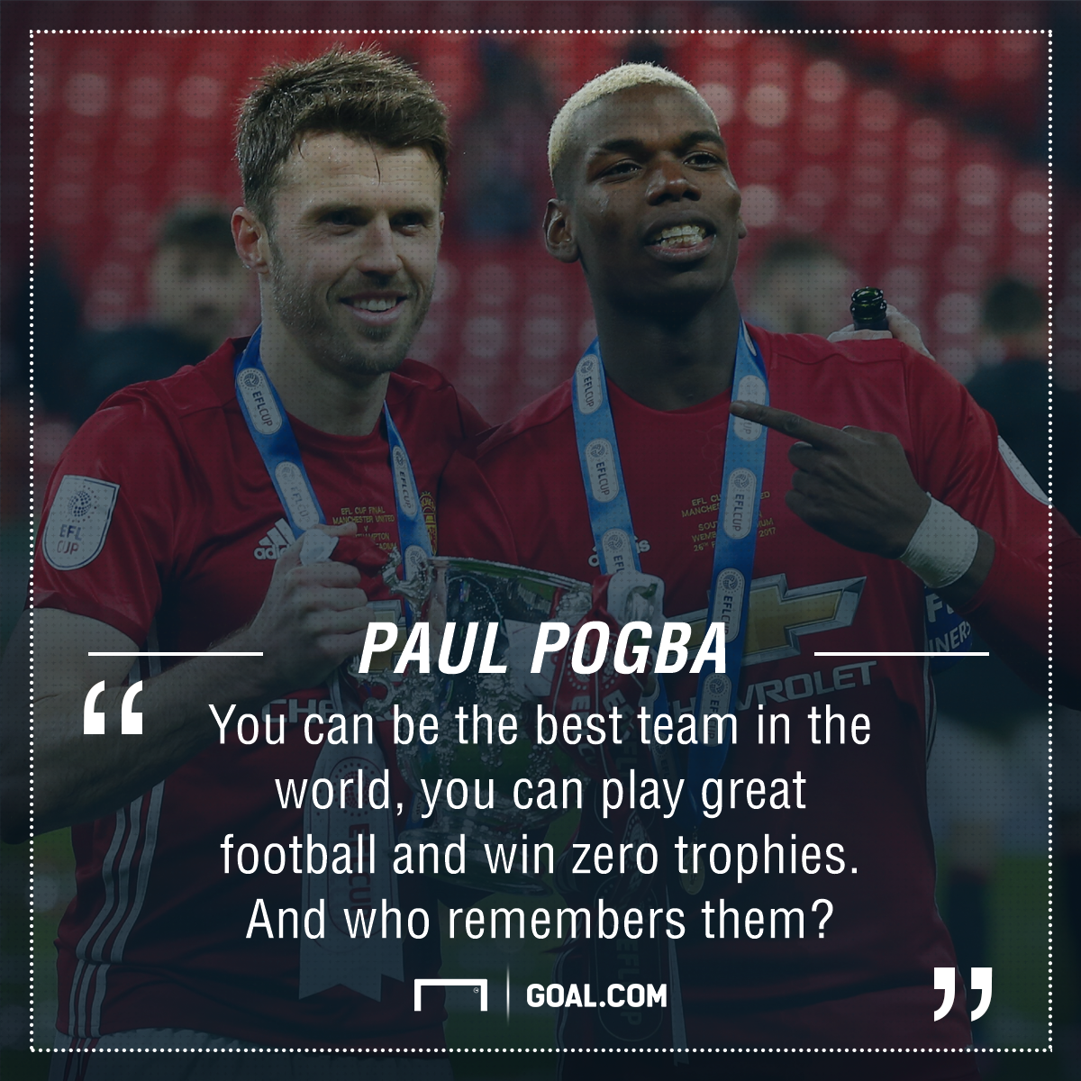 Paul Pogba Manchester United trophies