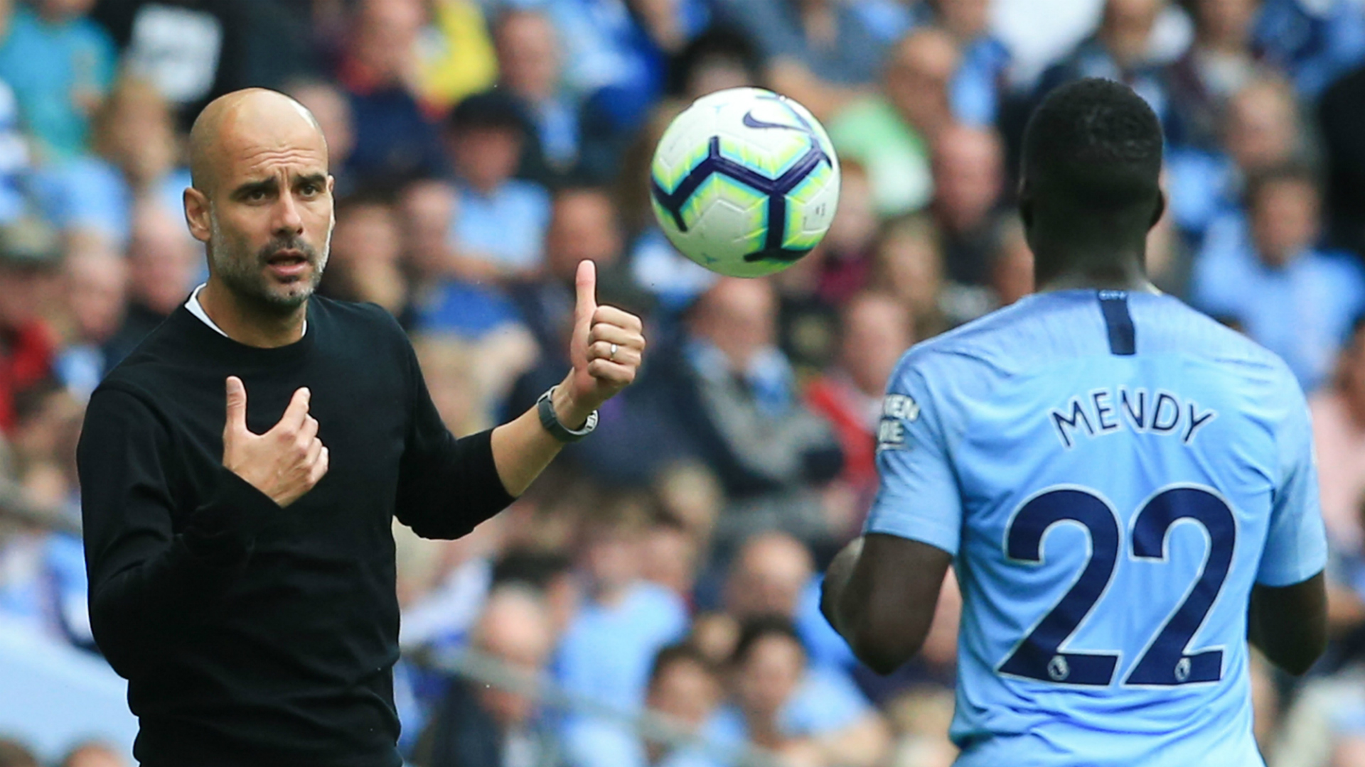 Pep Guardiola Benjamin Mendy