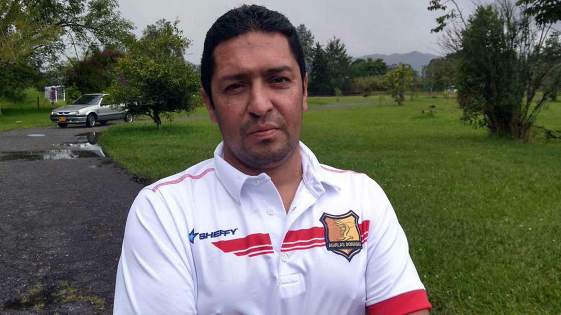 Óscar Pérez DT Rionegro Águilas