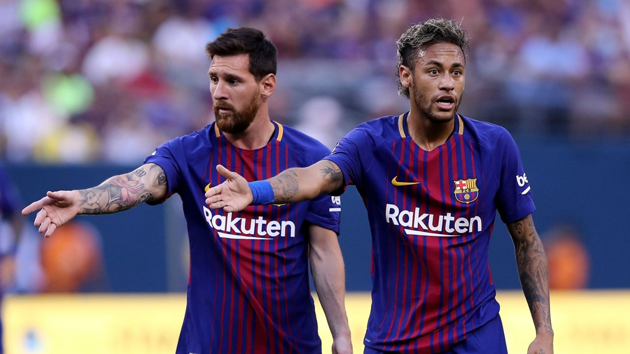 Messi Suarez Pique Convince Neymar To Stay But Barca Are Eager To Hear From The Brazilian Goal Com