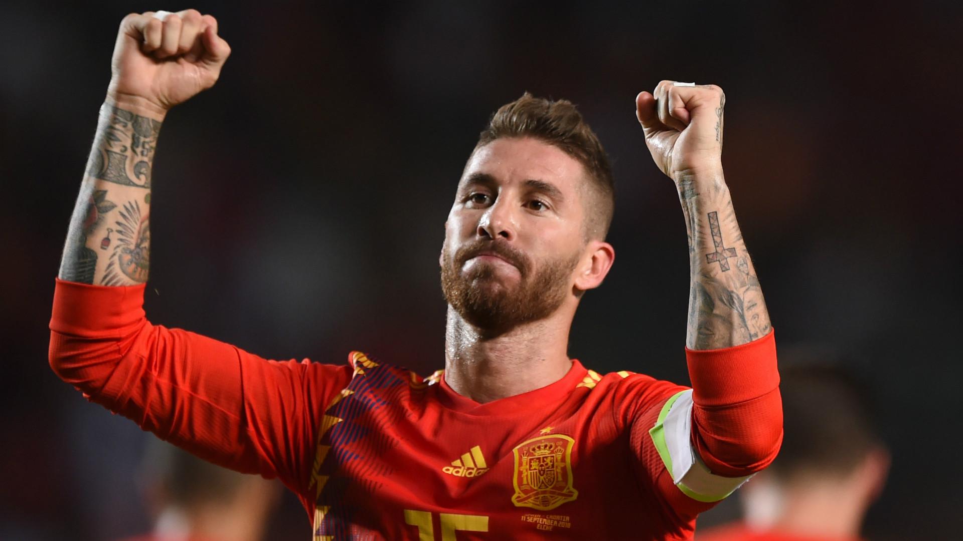 Sergio Ramos Spain 2018-19