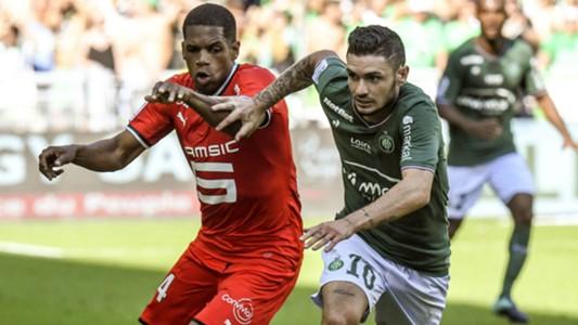 Remy Cabella Ludovic Baal Saint-Etienne Rennes Ligue 1 24092017