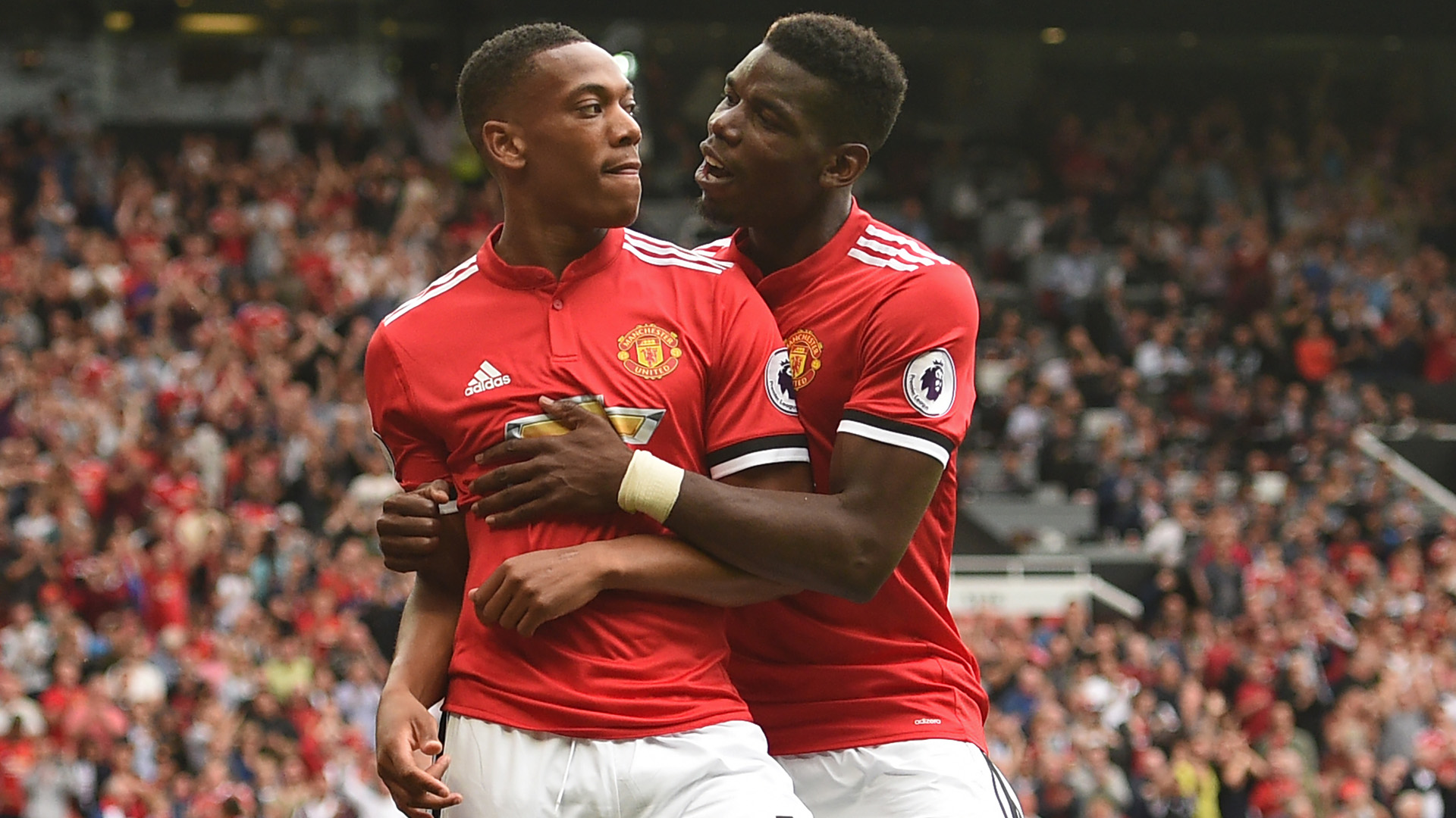 paul pogba anthony martial manchester united premier league 081317
