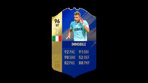 FIFA 18 Ultimate Team of the Season Immobile