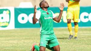 Gor Mahia striker Jacques Tuyisenge v Mathare United.