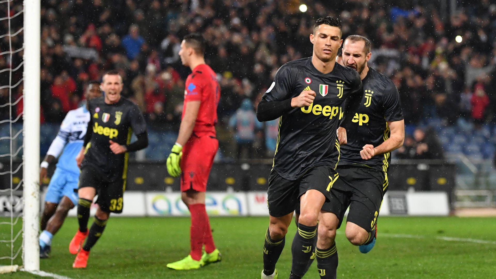 Cristiano Ronaldo Lazio Juventus Serie A