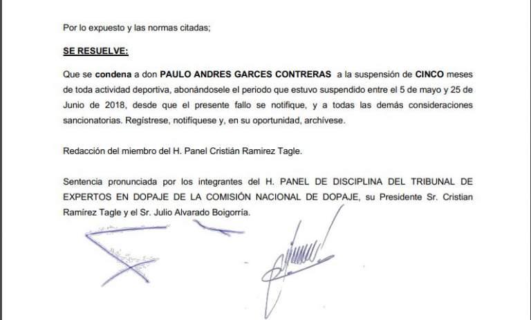 Resolución Paulo Garcés